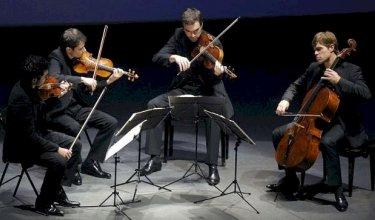 Quatuor Modigliani. Fêtes Musicales de Corbigny (2013). Source : modiglianiquartet.com