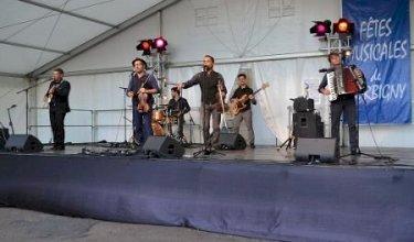 Les Yeux Noirs, concert de clôture, Fêtes Musicales de Corbigny 2017